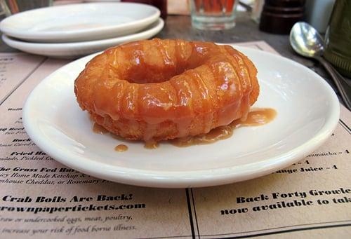 Homemade doughnut