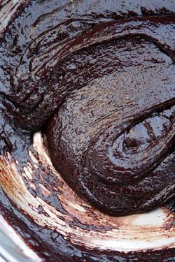 gluten-free brownies batter