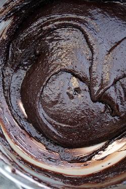 gluten-free brownie batter