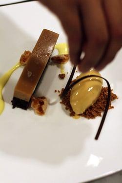 dessert at cotogna restaurant