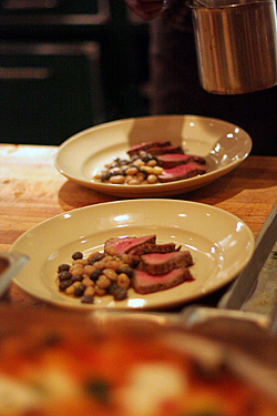beef tenderloin at cotogna