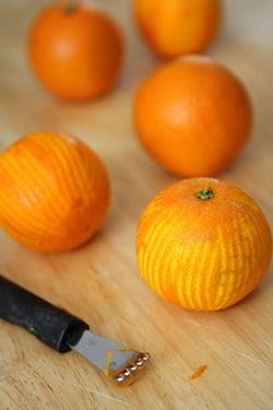 orange crème anglaise