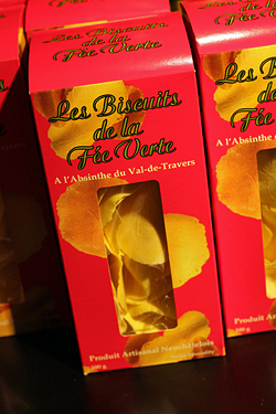 swiss abstinthe biscuits