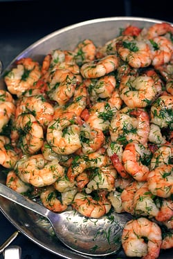 shrimp and dill