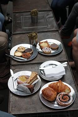 pastries bourke street bakery