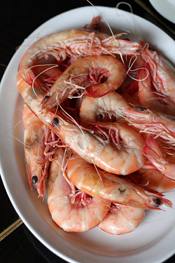 Chinese prawns