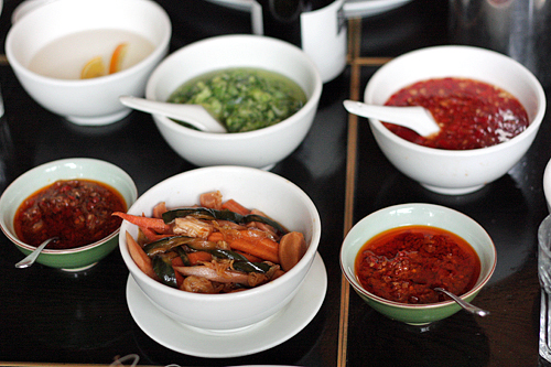 Chinese condiments