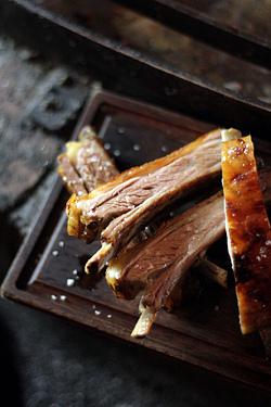 lamb ribs at Porteño