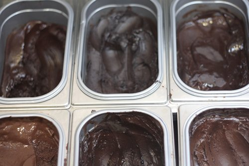 chocolate gelati