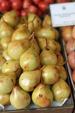 marzipan pears