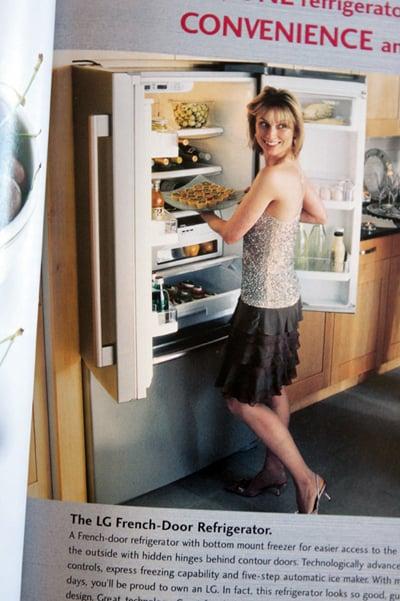 french vs american refrigerators. Black Bedroom Furniture Sets. Home Design Ideas