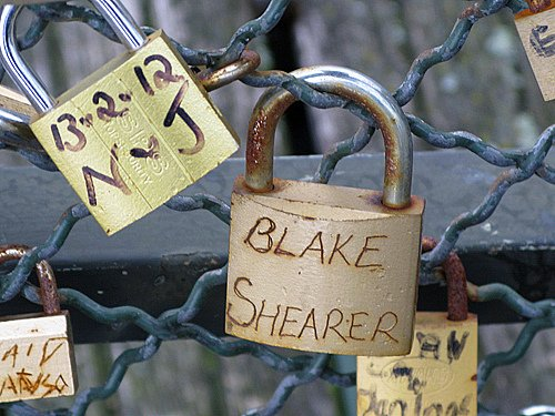 blake shearer - Pont des Arts, Paris