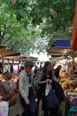 Anvers French market Paris