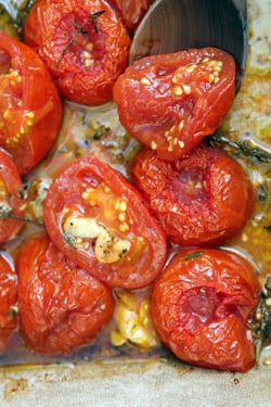 oven-roasted tomato recipe