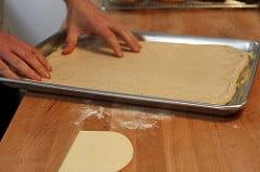 pizza dough pan