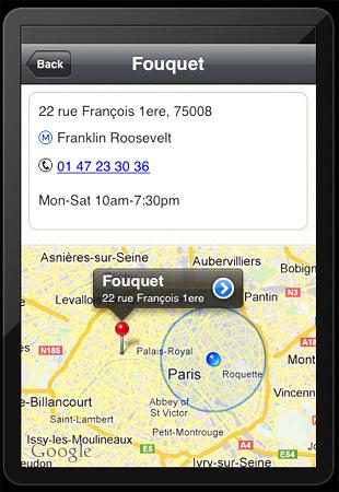 Paris Pastry App