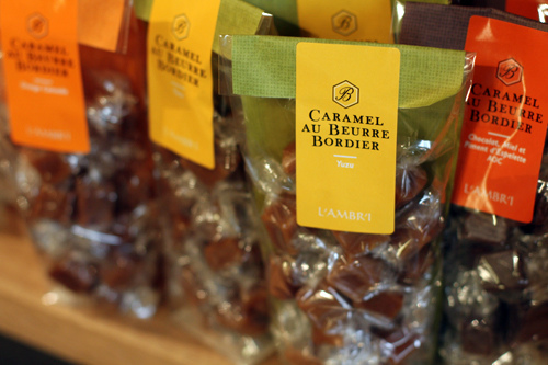salted butter caramels (Bordier)