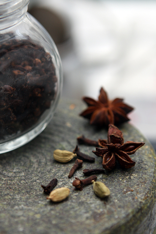 spices for Hot Mulled Wine