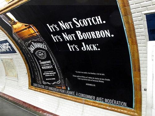 Jack Daniel's ad
