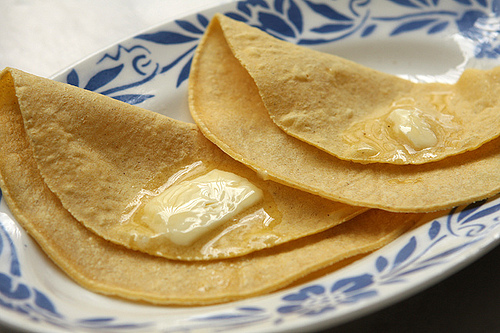 tortillas with french butter