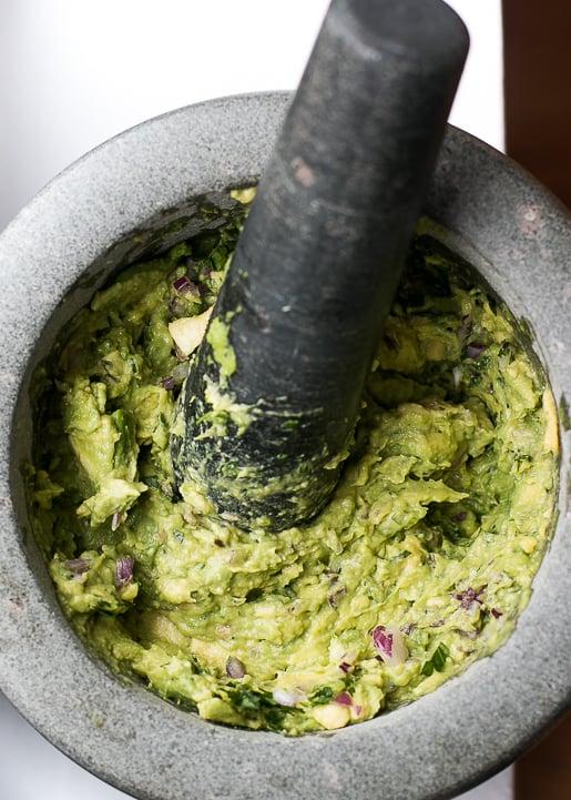 Avocado Guacamole recipe-3