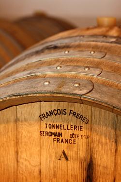 Champagne barrell