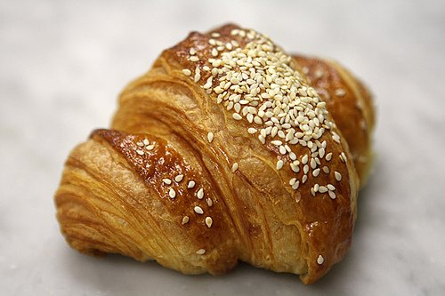 za'atar croissant in Beirut at Four Seasons