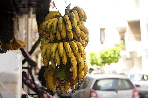 Bananas from Lebanon