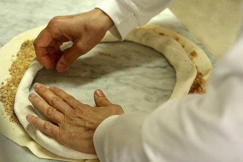 pastry shaping