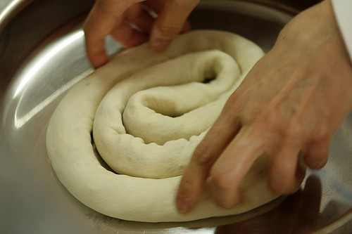 making pastry