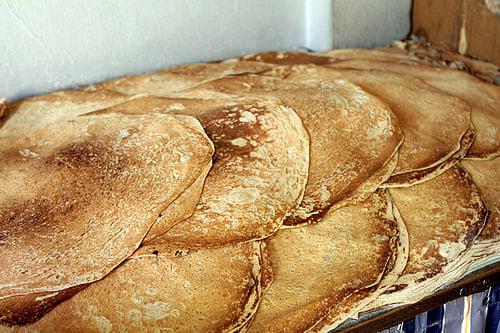 Lebanese breads - saj