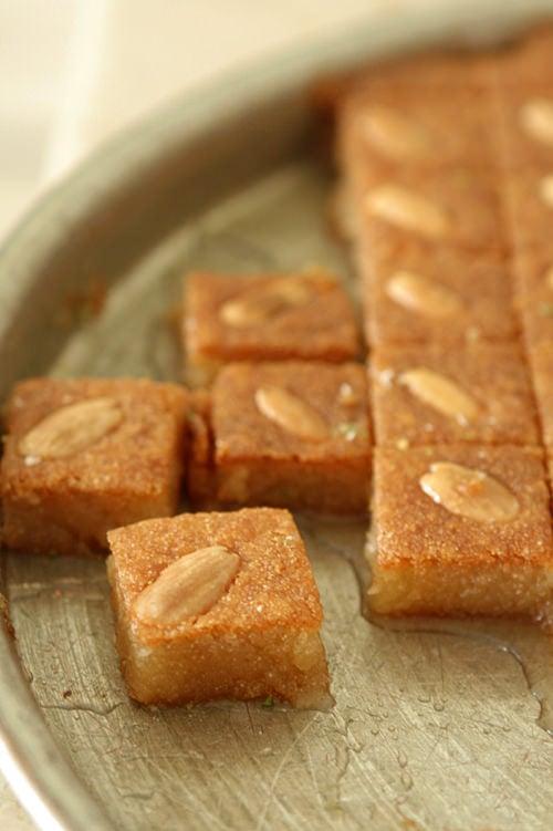 semolina pastry
