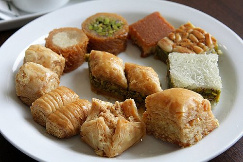 arab pastries