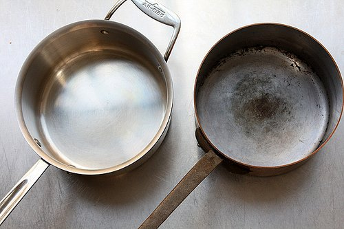 two pans