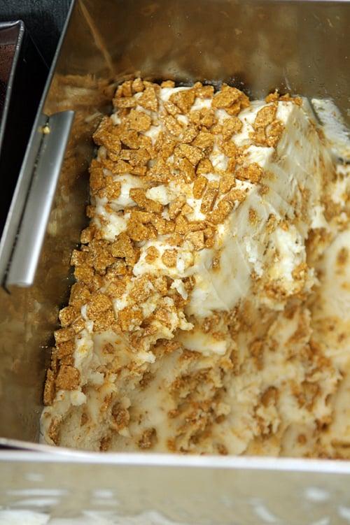 crunchy almond croquant ice cream