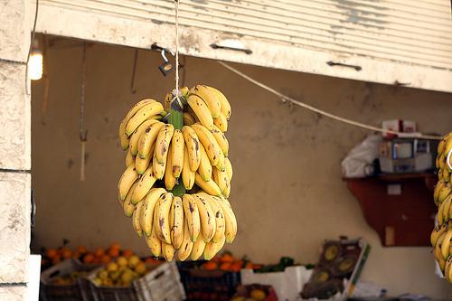 bananas in Lebanon