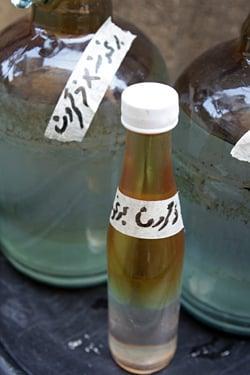 orange flower water with oil