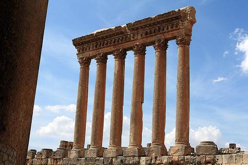 ruins in Lebanon
