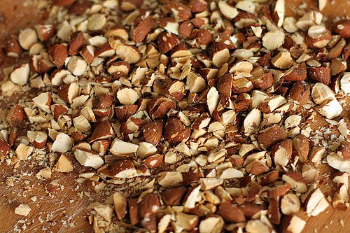 chopped almonds for brownies