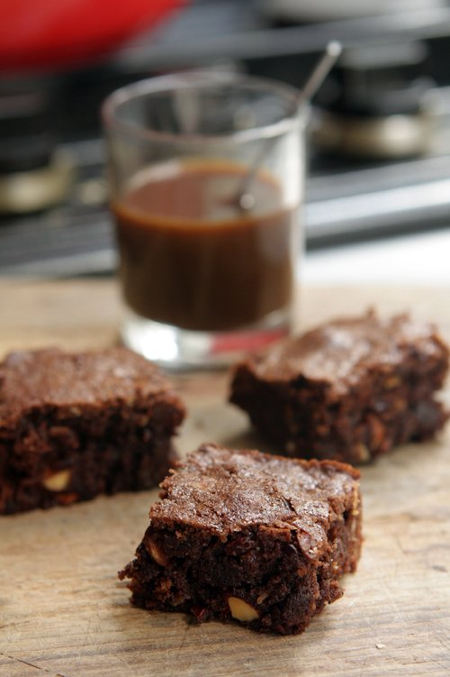 Dave and Kate's Chocolate Brownies
