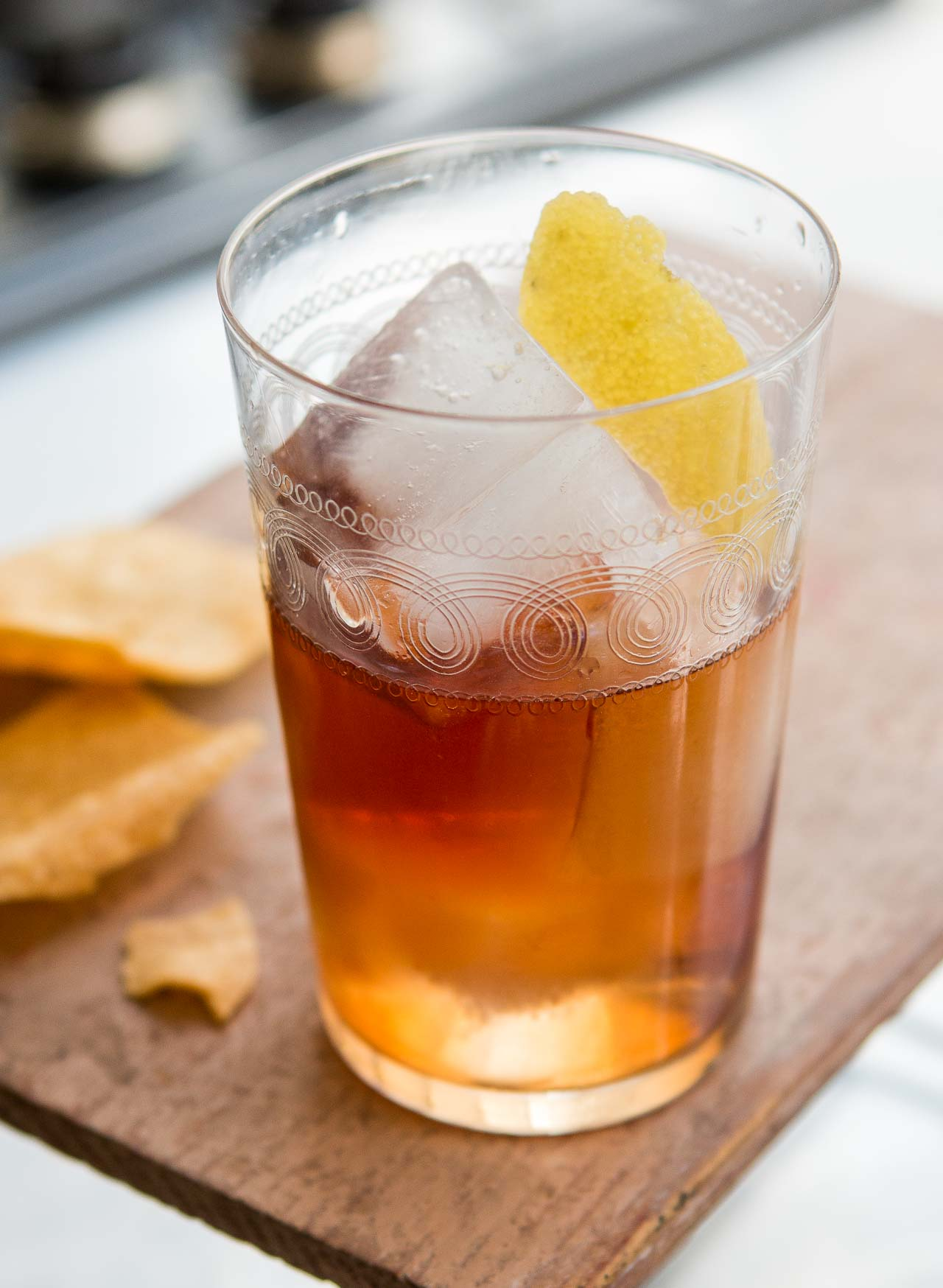 Vieux Carré cocktail: A delicious New Orleans cocktail inspired by the flavors of France!