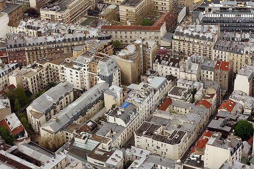view from ciel de paris