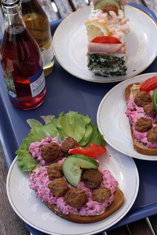 swedish roadside lunch