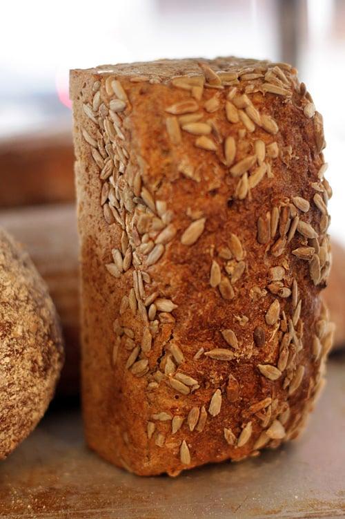 Swedish grainy bread