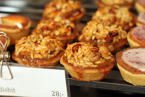 nutty tarts at Magnus Johannson
