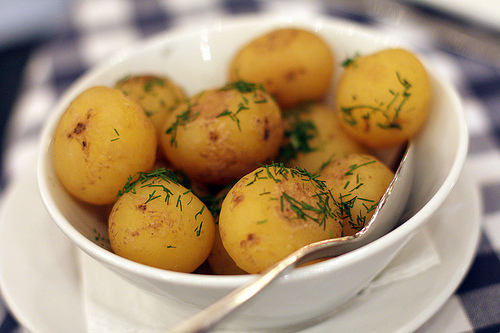 potatoes and dill