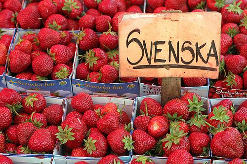 sweden strawberries