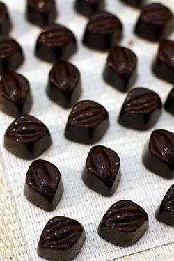 chocolates at Chokladfabriken