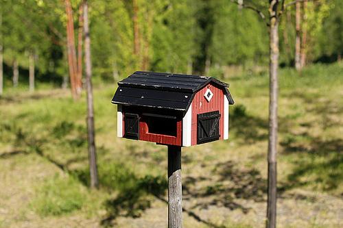 Fäviken birdhouse