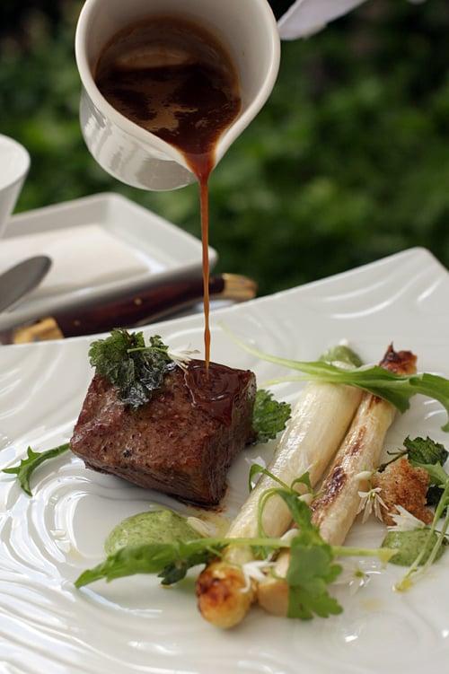 Lux restaurant meat